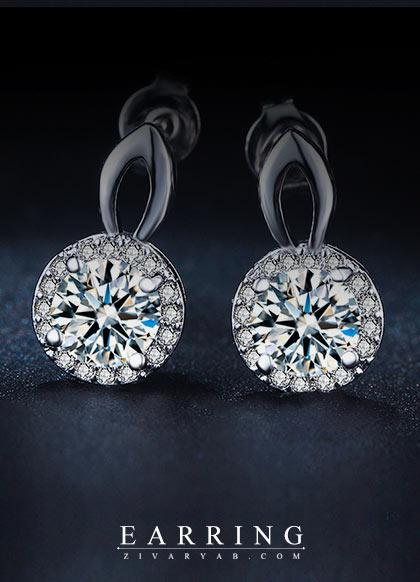 گالری طلا و جواهرات زیوریاب- جدیدترین و شیک ترین گوشواره های جواهر