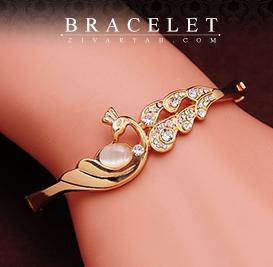 گالری طلا و جواهرات زیوریاب- جدیدترین دستبندهای جواهر