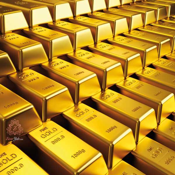 زیوریاب-شمش طلا- طلای 24 عیار