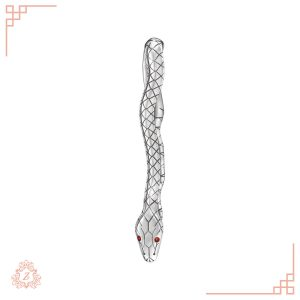 اکسسوری زیوریاب-گیره کراوات مار