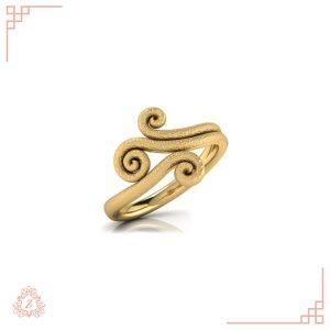گالری طلا زیوریاب- انگشتر طلای گابی