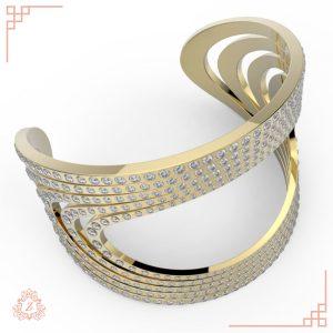 زیوریاب-گالری طلا و جواهر-دستبند نایس